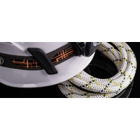 Static Rope 10mm Techtonic 200m Roll  REF 1511 White/Green
