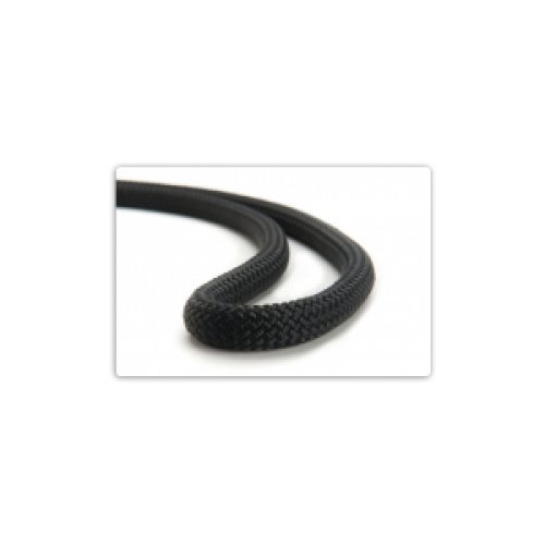 9mm Static Rope per metre - Black